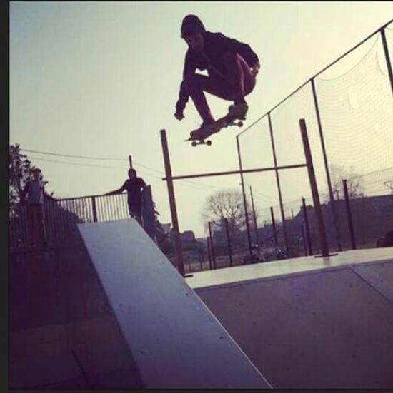 Skateboarding Skatelife Feel Sk8 Olliejump