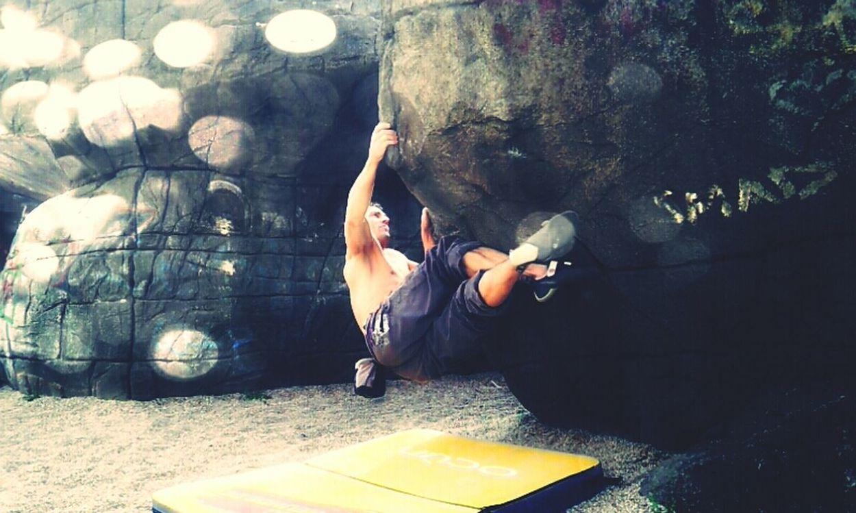 Bouldering Bouldern.<3