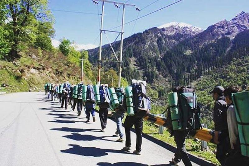 TBT  Mountaineering Aspiring Mountaineers Adventure TravelTales Traveling India Himalayas Harddays Fun Mothernature Bliss Trekking Memories