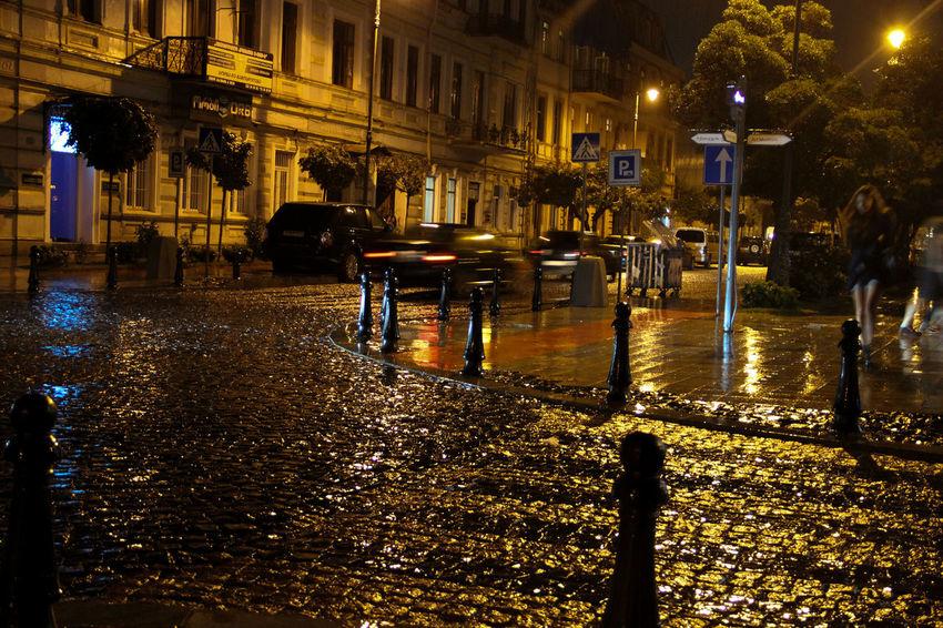 Wet night city After Dark City City Life Learn & Shoot: After Dark 🌙 Long Exposure Night Street Urban Learn & Shoot: After Dark Cities At Night