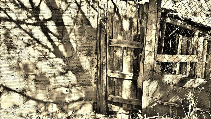 Tranquil Scene Tranquility Old Wooden Door Wooden Gate Shadows Light And Shadow Beauty In Nature Portugal Beautiful Nature Hot Day Stone Wall Tree Shadows Chicken Wire Sepia Ruins Architecture Ruin Ruins Portuguese Village Hot Days Old Structures Portugal Countryside Hot Day Outside Portugal Is Beautiful Beautiful Day Your Design Story