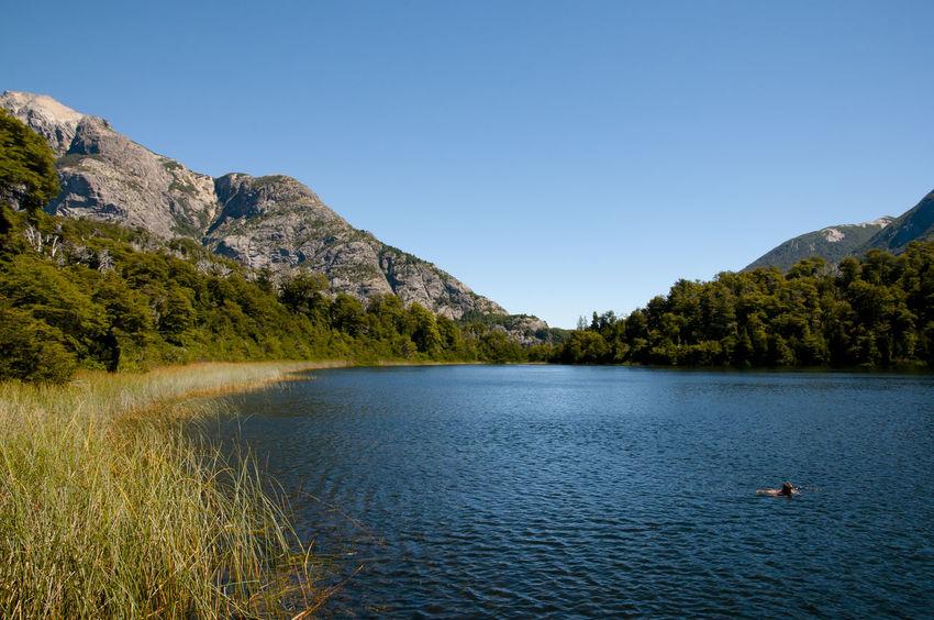 Hidden Lake in Nahuel Huapi Nahuel Huapi Argentina Bariloche Hidden Lake Lago Escondido Patagonia