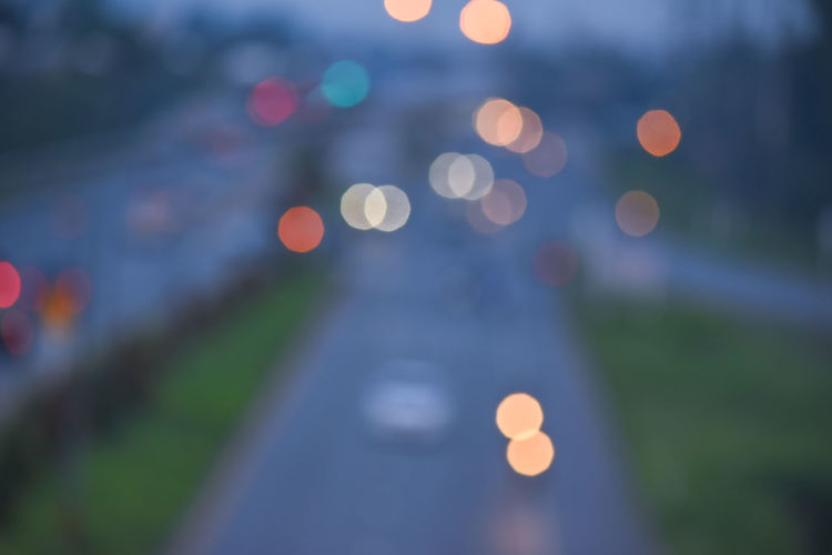 bokeh Defocused