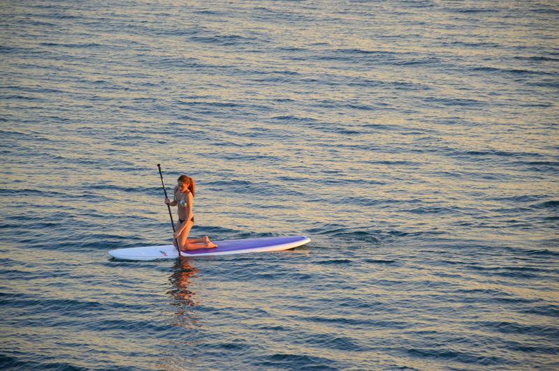 SUP Paddle Boarding Malibu Beach Sunset Eye Em Best Shots Beautiful Sport