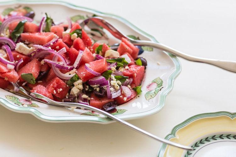Macro Beauty Watermelon Healthy Eating Watermelonsalad