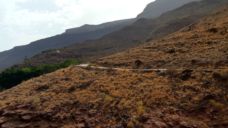 Mountain Nature No People Gran Canaria Ayaguares Roadtonowhere