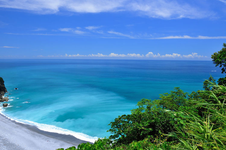Hualien Taroko National Park, a mysterious trip Taroko National Park Clear Water Cliffs Suhua Highway Taiwan Beach Beauty In Nature Blue Cloud - Sky Coastal Cool Feeling Day Horizon Over Water Idyllic Nature No People Outdoors Peaceful Scenics Sea Sky Tranquil Scene Tranquility Tree Water