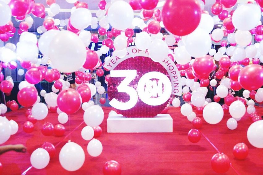 SM City North Edsa 30th anniversary