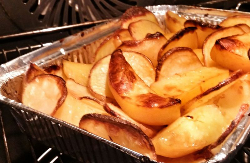 Grilled Potatoes Food And Drink Temptation Ready-to-eat In My Mouf Hungry Yummy :)