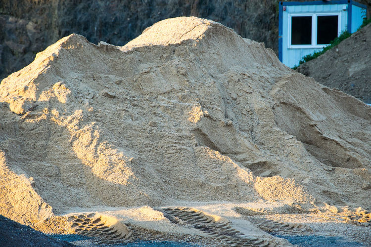 Building Close-up Industry Nature Outdoors Rock - Object Sand Structure Textured  Transportation Work