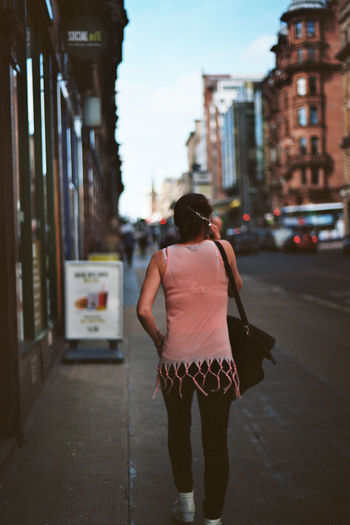 Casual Clothing City Pink Street Photography Talking On The Phone The Following