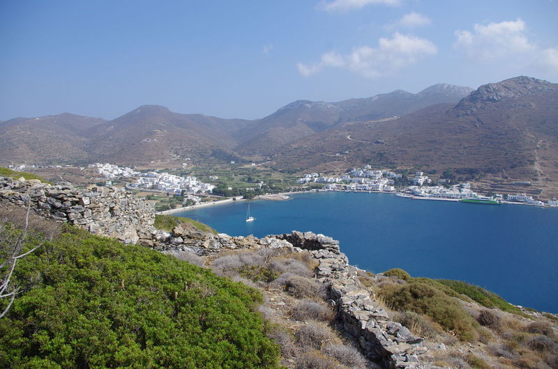 GREECE ♥♥ Griechenland Griechische Inseln Amorgos Amorgosisland Beauty In Nature Day Greece Mountain Mountain Range Nature No People Outdoors Scenics Sky Tranquil Scene Tranquility Tree Water