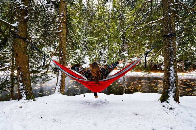 Hiking Outdoor Pictures Snow ❄ Tree Adventure Adventure Time Beauty In Nature Forest Forest Photography Hammock Hammock Time Hike Hiking Adventures Hikingadventures Lifestyles Mountain Mountain Lake Nature Outdoor Photography Outdoors Outdoors Photograpghy  Snow Snow Covered Snow Day Tree_collection  Be. Ready.