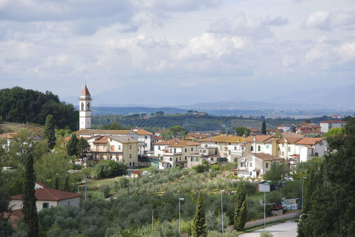 Architecture Building Exterior Built Structure Day Nature No People Outdoors Sky Toscany Town Tree Valle Del Chianti
