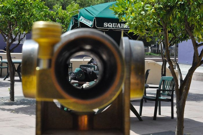 #los Angeles Pershing Square Adapted To The City