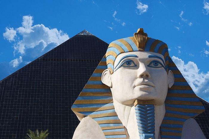 Hanging out at Luxor Hotel & Casino Hanging Out