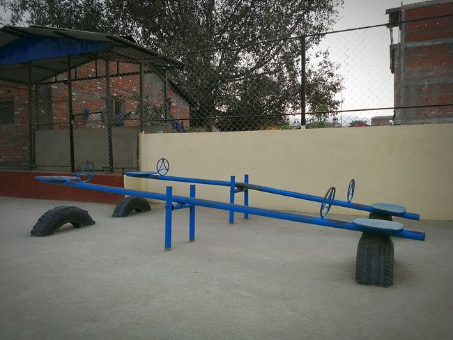Playground Playground Equipment Playground Fun With The Kids Playground Fun Playgrounds Playground Structure Playground For Kids SeasawFUN Seasaw Seesaw Game Sport Day Prison No People Outdoors