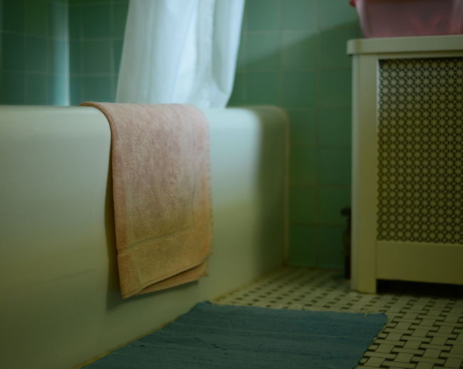 Absence Apartment Bathroom Close-up Empty Heater Indoors  No People Seat The Way Forward Towl Window