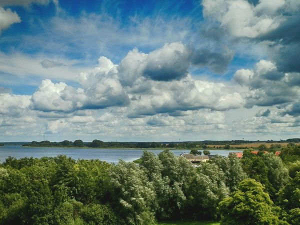 Brandenburg Landscape Nature Dramatic Sky Water Sky Outdoors Plant Scenics Sea Beauty In Nature No People Day Storm Cloud Cloud - Sky Beauty In Nature Nature Wetland Trees And Nature Travel Tree HDR Lost In The Landscape