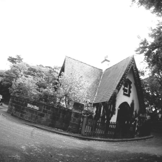 Cottage House Black And White West Kirby