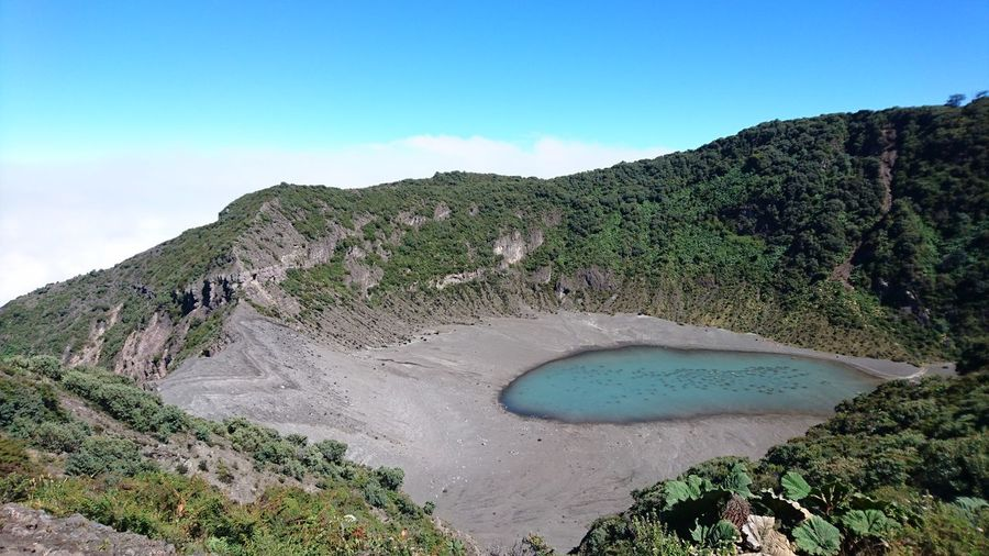 After the hurricane Nature Beauty In Nature Blue Clear Sky Costarica Costaricagram No People Volcanic Landscape Water