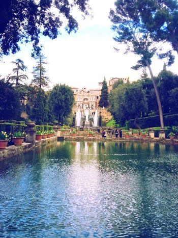 Building Exterior Water Architecture Storic Villa D'Este Italy🇮🇹