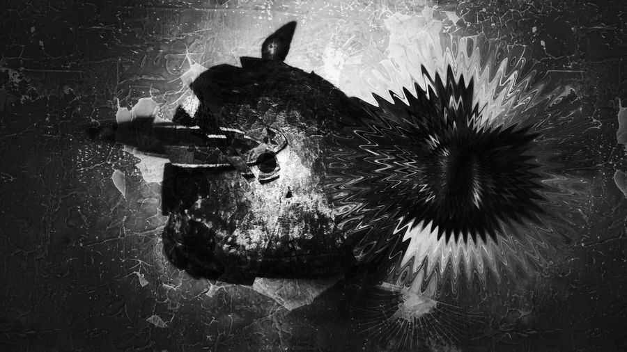Animal Themes Mask Ethnic Bnw Beautiful Nature Dark Night 4