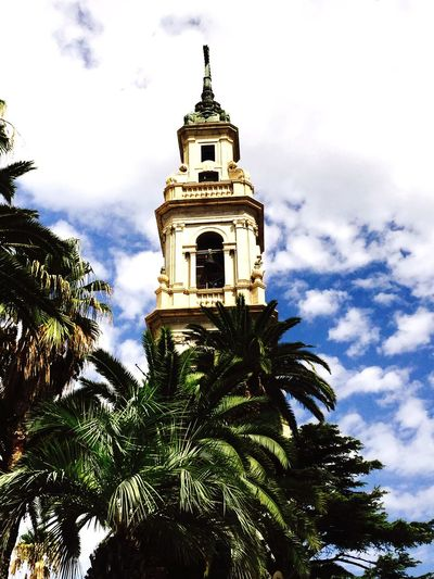 Church Pompéi Italia Palmier