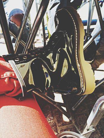Shoes Black Modern Fashion