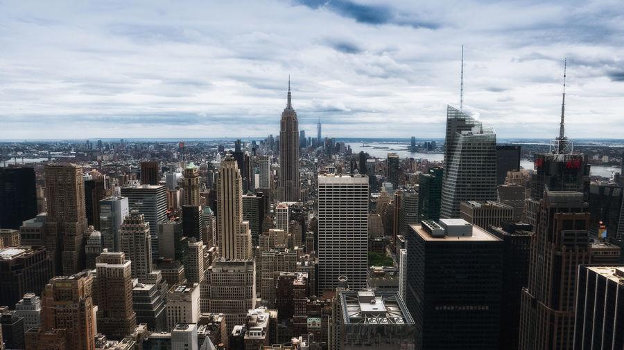 Architecture Built Structure City City Life Empire Empire State Building Skyline Urban Skyline