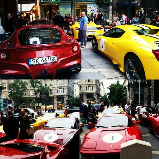 Streetrace Ferrari Ferrarichallenge Buddhabar Budapest