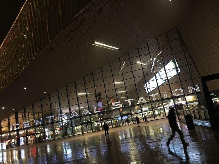Rotterdam Centraal Station Rotterdam Reflections