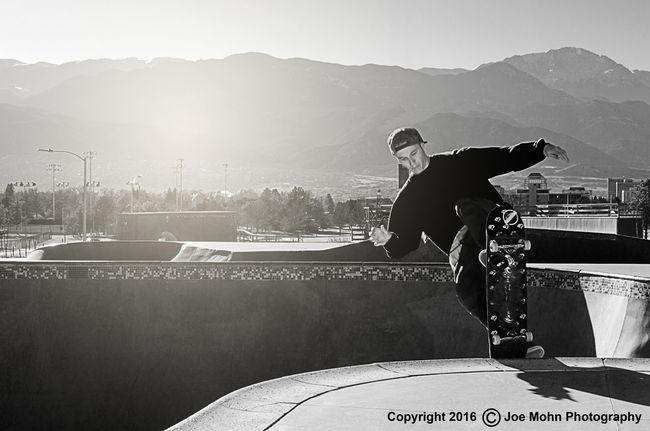 Riding hard Colorado Springs Skateboardingisfun Skateboarding Skateboard Skatepark