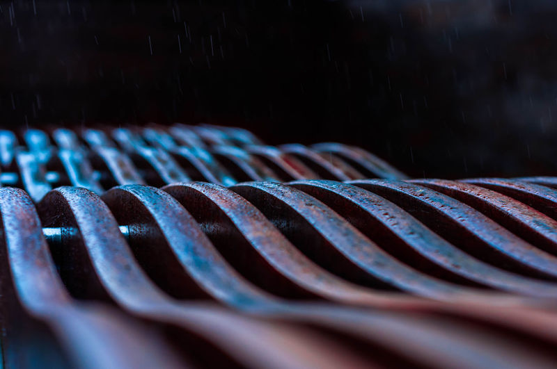 50mm Rain Abstract Close-up Day Earth Colours No People Shaped Wood Wooden Bench