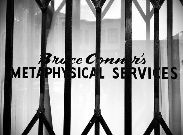 Metaphysical Services Black & White