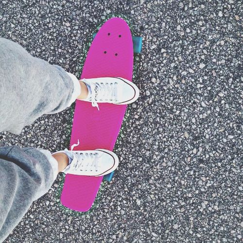 Skateboarding Pennyboard