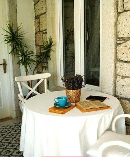 EyeEmNewHere Kahve Molası Chair Table No People Luxury Place Setting Indoors  Day Architecture Kitaplariyikivar Türkiye 💙💛