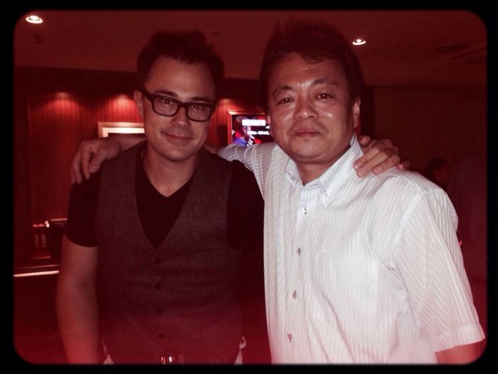 With CHRIS MINH DOKY