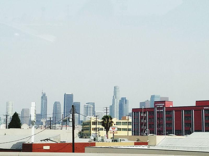 La Los Angeles, California Los Angeles - Street Down Town Los Angeles