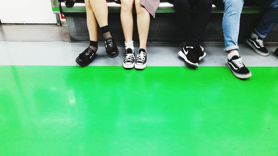 Low Section Human Body Part Human Leg Low Body Part Friends Subway Subway People Subway Stories Subway Scene Seoul Subway Seoul South Korea Contrasts Shoes Young Adult Youth Of Today Transportation Life In Colors Life Moments People Photography See The World Through My Eyes People Sitting Green Color EyeEm Best Shots Still Life Out Of The Box Neon Life Mix Yourself A Good Time Second Acts Fashion Stories The Street Photographer - 2018 EyeEm Awards Summer Road Tripping