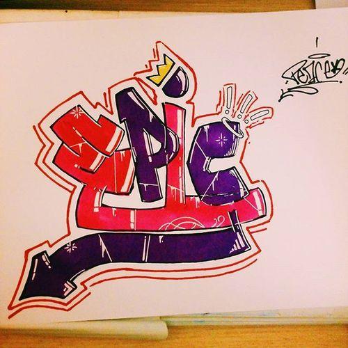 """EPIC"" Epic Epic_captures Graff Graffiti Art Graffitiart Graffitis Graffitiworld Instagraff Artist Art_is_not_crime Artsy Arts Color Pin_post Colorful Purple Pink White Paper Wall Graphicdesign E P I c crown design @arts_help @art_spotlight @arts_promo @arts.gallery @dailyartistiq @graffitistreet @graffitifont @spraydaily @wermadib"