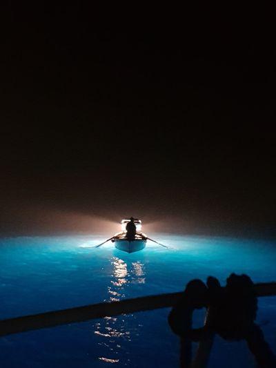 Fishing at night in Amalfitan Coast - Lampara Lampara Amalfi Coast Darkness Salerno Cetara Fishing Night No Stars Tirreno Boat Light Water Nautical Vessel Oar Full Length Sport Sea Adventure Paddleboarding Rowing Fisherman