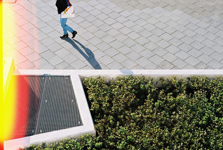 35mm 35mm Film Analog Analogue Photography Berlin City EyeEm Best Edits EyeEm Best Shots Film Film Photography Filmisnotdead Glitch Legs Light And Shadow Outdoors Shadow Sidewalk Street Streetphoto_bw Streetphotography Streets Tiled Floor Walk Walking Around Woman