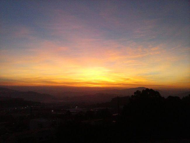 Por do Sol,vista de Sameiro,Braga, Portugal A Minha Cidade Hello World From Where I Stand Night Lights