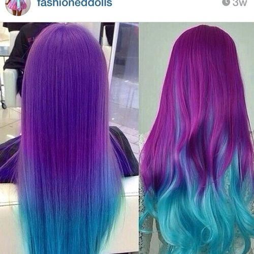 I want this hair color DX