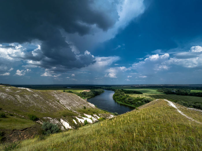 Russia, Voronezh region, Voronezh limestone mountains, the river don Russia Tourisme Travel Voronezh Limestone Mountains Voronezh Region Beauty In Nature Cloud - Sky Day Grass Horizon Over Water Landscape Leisure Limestone Mountains Nature No People Outdoors Scenics Sea Sky The River Don Tourism Tranquil Scene Tranquility Vacation Water