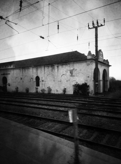 Trainstation Oldtrainstation Old Traveling Black & White Black&white Goingbackhome  Goingbytrain