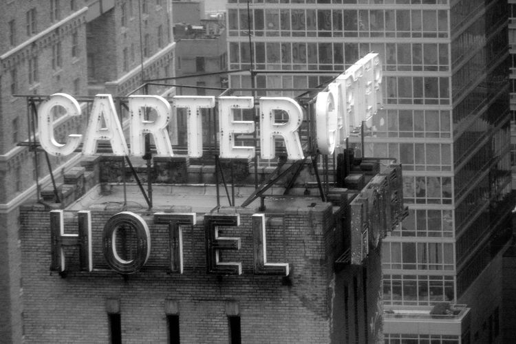 Text Western Script Building Exterior Architecture Built Structure Capital Letter Communication Window City Sign Glass - Material Single Word No People Transparent Building Reflection Day Outdoors Illuminated Digital Composite Message New York City