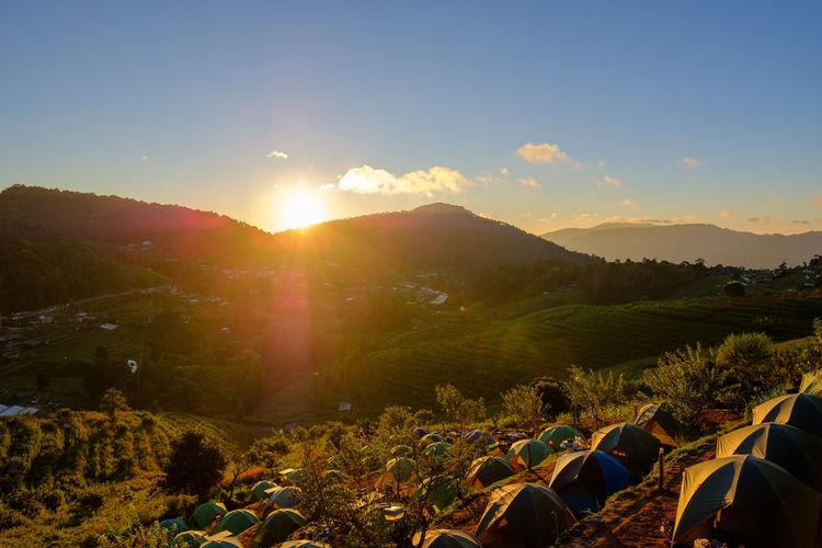 Sunrise at Mon