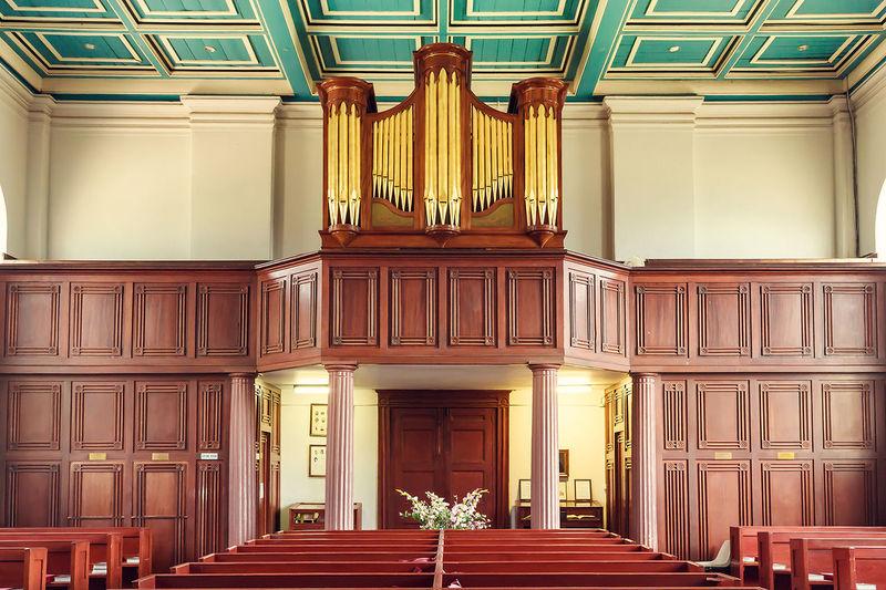 Organ In Temple